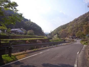 岩村道の里山景観